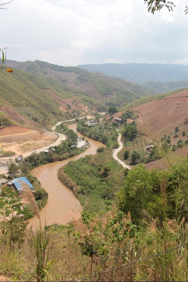 Im chinesichem Grenzgebiet.