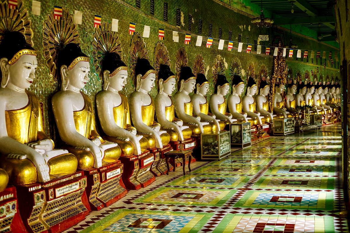 Auf dem Sagaing-Hügel bei Mandalay